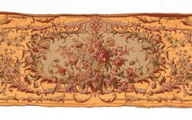 A Wall Panel, in the 18th Century Aubusson Style, with...