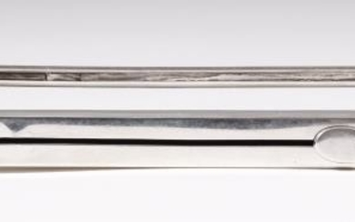 An Edward VII Silver Combined Sealing Wax Holder, Taper...