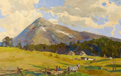 Anatoly Demenko (b. 1980) - The Carpathian mountains
