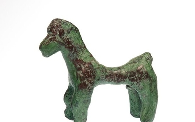 Ancient Greek Bronze Geometric Period Horse