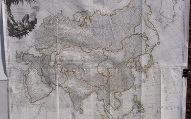 Asia According to the Sieur D'anville