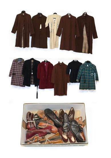 Assorted Early to Mid 20th Century Children's School Coats, including...