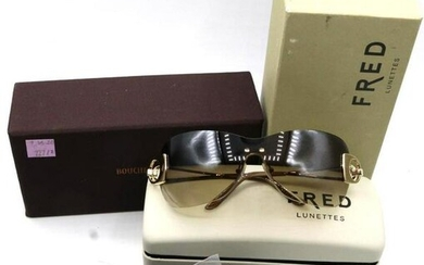 Boucheron and Fred Glasses