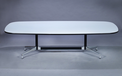 Charles and Ray Eames. 'Segmented Table', 'Boatshape', L. 274 cm