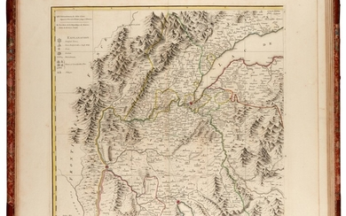 DURY | A chorographical map of the King of Sardinia's dominions, 1765