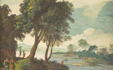FRENCH SCHOOL Master, active in the 18th century. RIVER