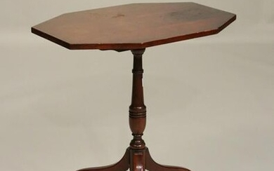 Federal Style Mahogany Candlestand