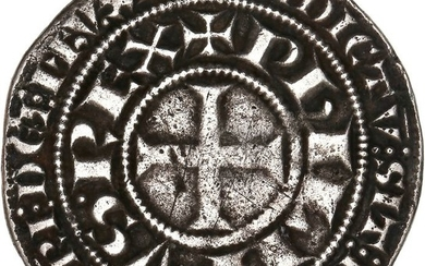 France - Philippe III (1270-1285) - Gros tournois - Silver