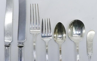 Gorham/Whiting Sterling Silver Flatware Service