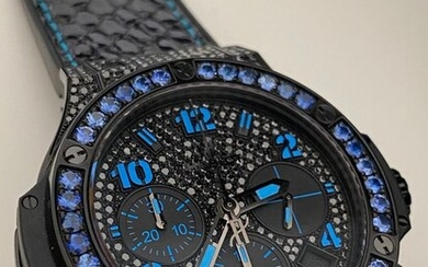 "Hublot - Big Bang ""Black Fluo Blue"" - 341.SV.9090.PR.0901 - Unisex - 2011-present"