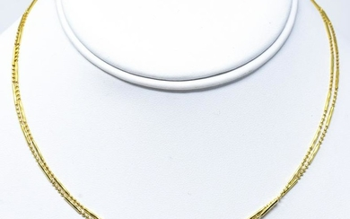 Italian 14kt Yellow Gold Necklace Chain