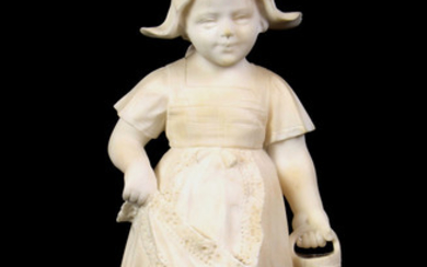 Italian carved marble sculpture