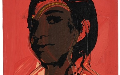 LADIES AND GENTLEMEN (ALPHANSO PANELL), Andy Warhol