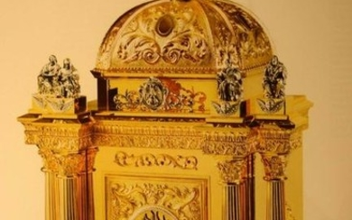 """Large Baroque Cathedral Tabernacle + 50"""" tall, 29 3/4"""""""