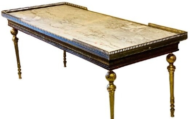 Large Coffee Table - Louis XVI Style