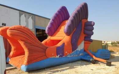 Large Inflatable Bouncy Castle; 'Nemo', Approx. 12m Long, To...