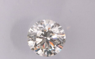 Loose brilliant cut diamond 0.59ct