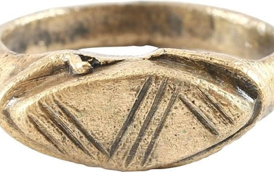 MEDIEVAL EUROPEAN RING SIZE 4 ¾