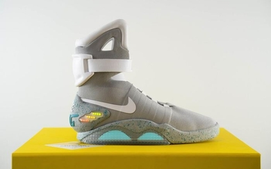 Nike - Nike Mag 2011 Back to the Future Full Set Sneakers - Size: 45