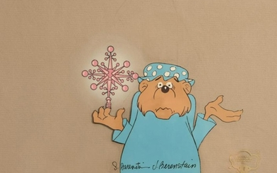 Stan and Jan Berenstain, Mama Bear with Christmas Tree