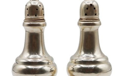 Sterling Silver Salt and Pepper Shakers