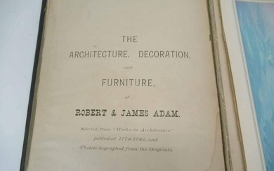 The Architecture Decoration and Furniture Book