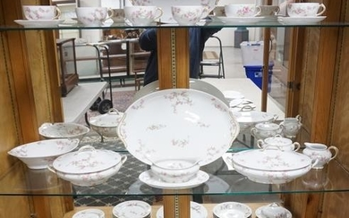 38 PC CR FIELD HAVILAND LIMOGES PARTIAL DINNERWARE