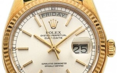 54028: Rolex, Oyster Perpetual Day-Date Ref. 18038, 18k