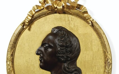A BRONZE RELIEF PORTRAIT OF LOUIS XVI, FRENCH, 19TH CENTURY