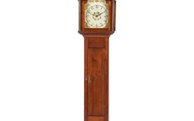 A Chippendale Carved Cherrywood, Gilt-Decorated Wooden
