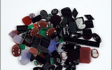 A Collection of Unmounted Stones.