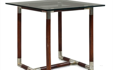 A French glass table