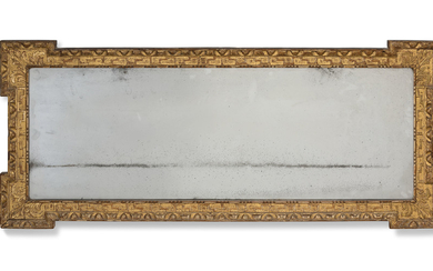 A GEORGE II GILTWOOD AND GESSO MIRROR, CIRCA 1740