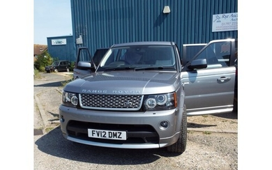 A Range Rover Autobiography 2012, as new only 8,410 miles on...
