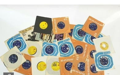 A collection of Rolling Stones 7 inch singles to include Hon...