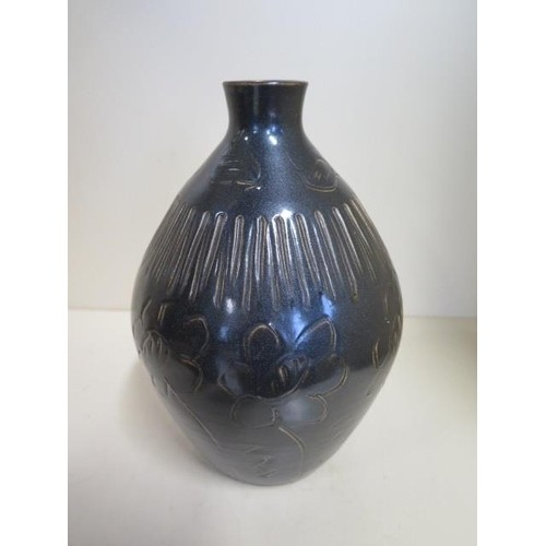 An early Omega studio pottery vase impressed mark and 11 to ...