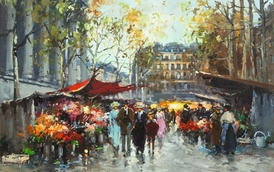 Antoine Blanchard (French, 1910-1988) Marche aux