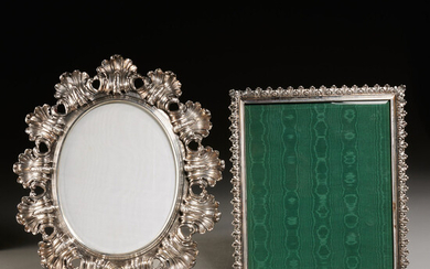 Buccellati, (2) sterling picture frames