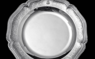 CHRISTOFLE - TWO FRENCH ANTIQUE STERLING SILVER SERVING