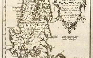 Carte des Isles Philippines' North sheet. Luzon