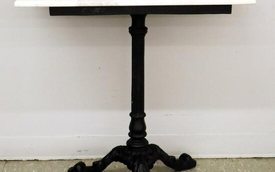 Cast Iron Cafe Table