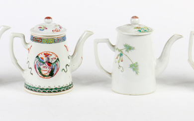 Chinese Famille-rose Tea Pots
