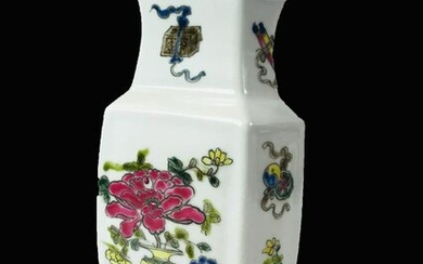 Chinese Porcelain hexagonal Vase.