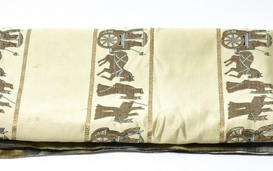 Chinese Silk Embroidered Greco Roman Style Fabric