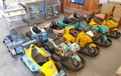 Collection of 10 x Eurogames Mini Cars & Mini Bikes; Battery...