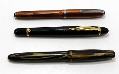 Collection of 3 Different Fountain Pens