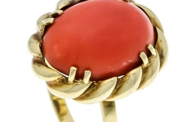 Coral ring GG 585/000 wit