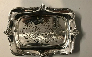 Durgin Sterling Asparagus Tray Mint All Original No