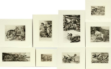EDMUND OSTHAUS ETCHINGS AND DRYPOINTS, 9