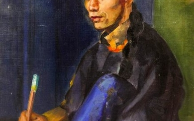 Esther Price (20th Cent. American) Chinese Man with
